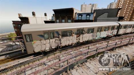 New Subway graffiti for v3 for GTA 4 second screenshot