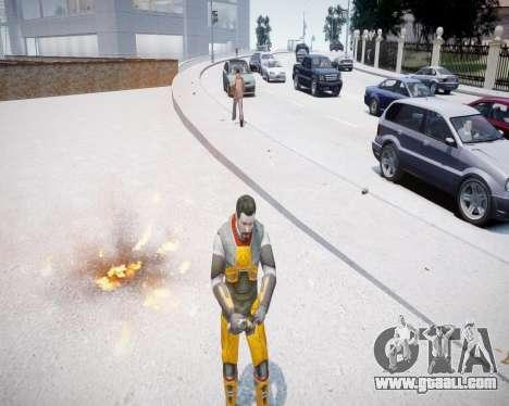 Gordon Freeman for GTA 4 second screenshot