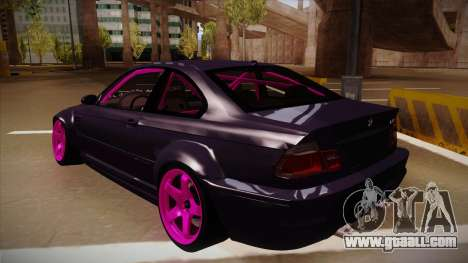 BMW M3 Drift for GTA San Andreas right view