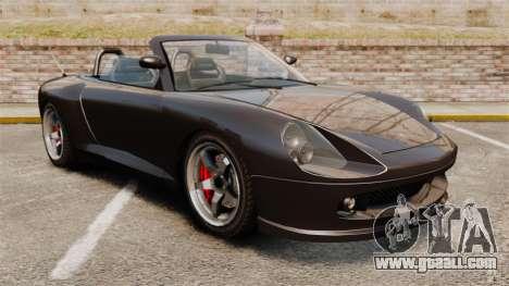 Comet convertible for GTA 4