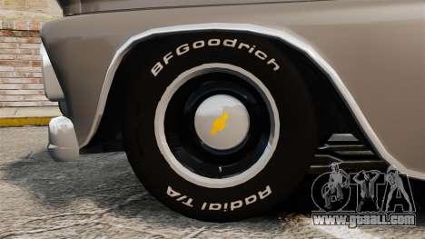 Chevrolet C-10 Stepside v2 for GTA 4 back view