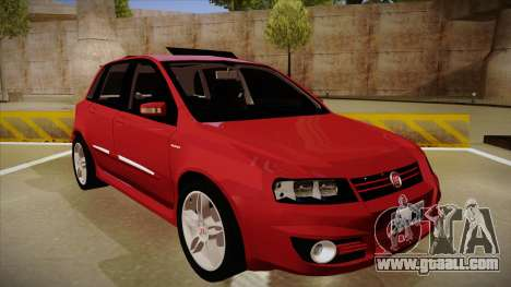 FIAT Stilo Sporting 2009 for GTA San Andreas left view