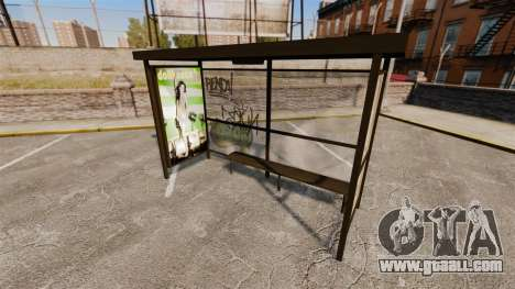 Real advertising at bus stops for GTA 4 forth screenshot