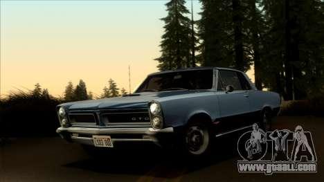 Pontiac Tempest LeMans GTO Hardtop Coupe 1965 for GTA San Andreas