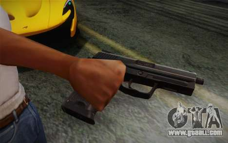 USP45 without silencer for GTA San Andreas