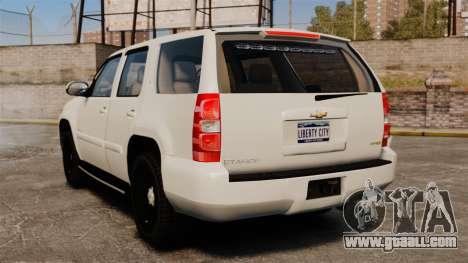 Chevrolet Tahoe Slicktop [ELS] v1 for GTA 4 back left view