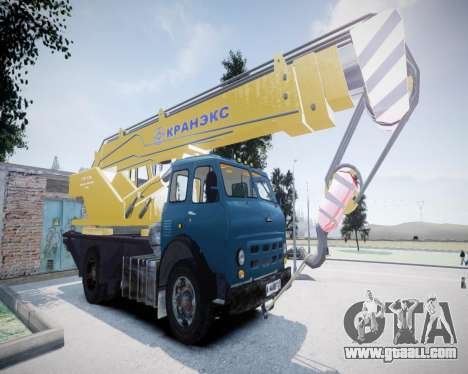 MAZ 500 KS3577-4-4 KRANEKS for GTA 4