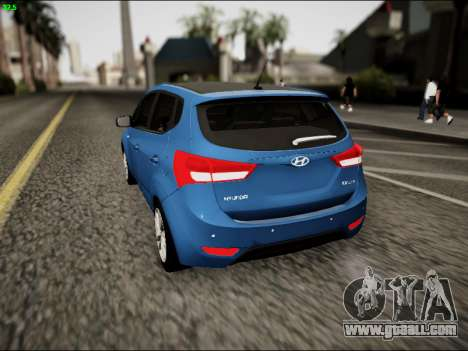 Hyundai ix20 for GTA San Andreas back left view