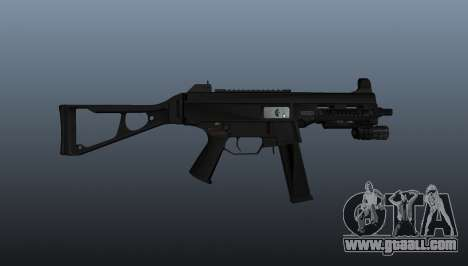 UMP45 submachine gun v2 for GTA 4 third screenshot