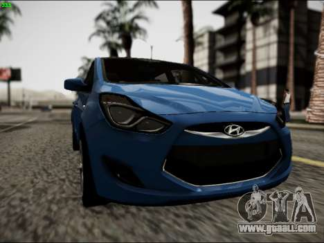 Hyundai ix20 for GTA San Andreas back view