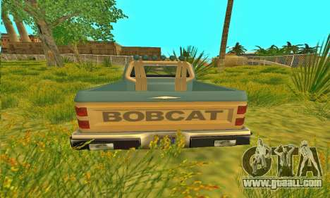 Bobcat Off-road Armor for GTA San Andreas back view