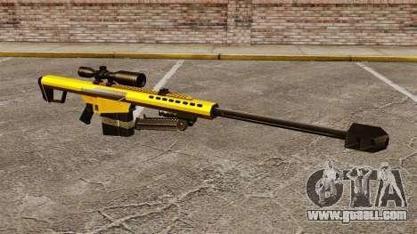 The Barrett M82 sniper rifle v3 for GTA 4