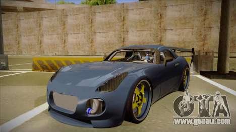 Pontiac Solstice Rhys Millen for GTA San Andreas