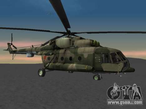 MI-8 for GTA San Andreas back left view