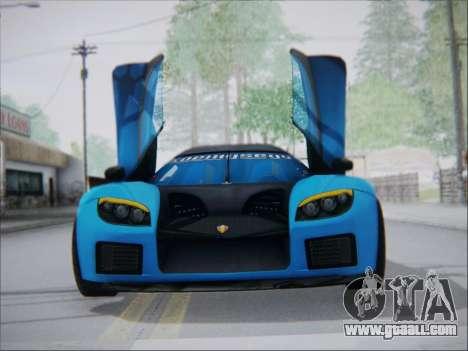 Koenigsegg CCX Elite for GTA San Andreas