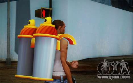 Jetpack from Subway Surfers for GTA San Andreas