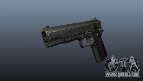 Pistol M1911 v5 for GTA 4