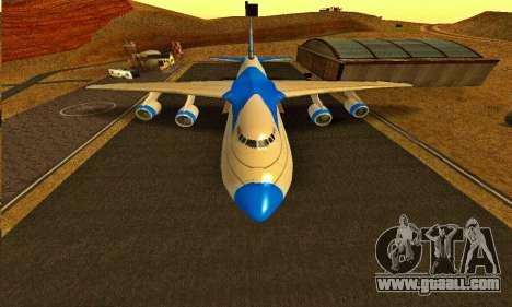 Andromada GTA V for GTA San Andreas right view