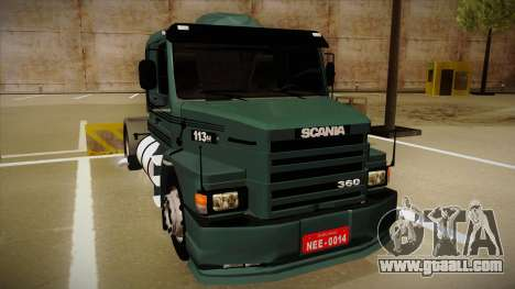 Scania 113H for GTA San Andreas left view