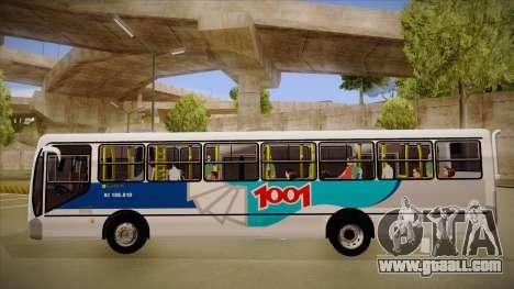 Busscar Urbanuss Pluss 2009 for GTA San Andreas back left view