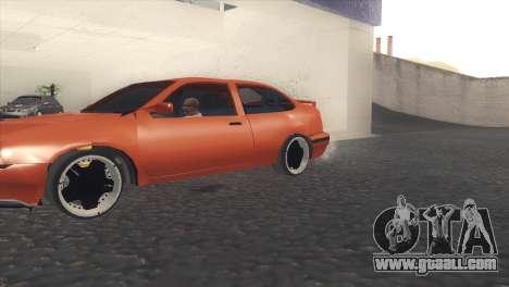 Seat Cordoba SX for GTA San Andreas left view