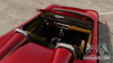 Turismo Spider for GTA 4 right view