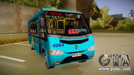 Marcopolo Senior G7 MB LO-915 for GTA San Andreas left view