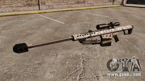 The Barrett M82 sniper rifle v5 for GTA 4 third screenshot