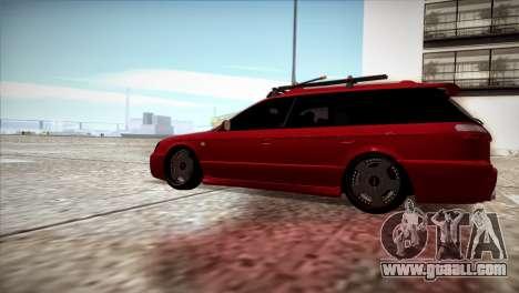 Subaru Legacy Wagon Hellaflush for GTA San Andreas left view