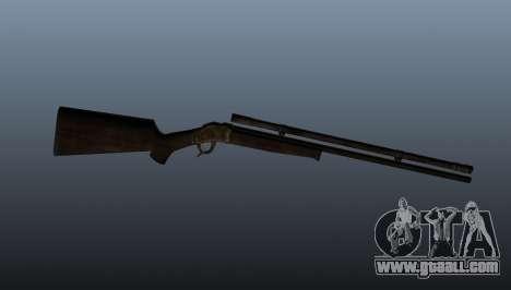 Sniper rifle Remington Rolling-Block for GTA 4 third screenshot