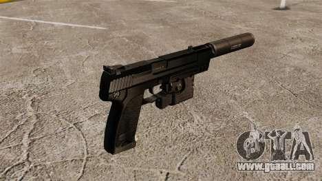 HK USP Pistol for GTA 4 second screenshot