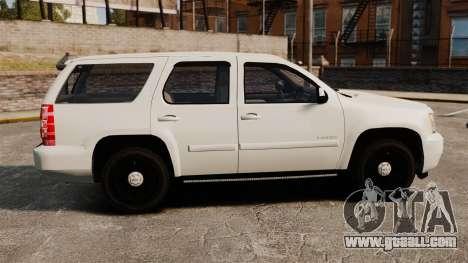 Chevrolet Tahoe Slicktop [ELS] v1 for GTA 4 left view