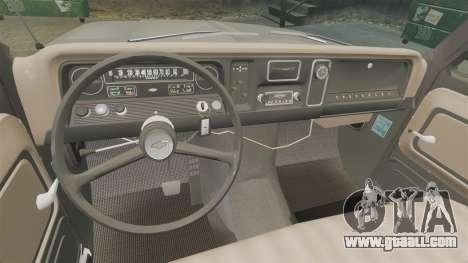 Chevrolet C-10 Stepside v2 for GTA 4 inner view
