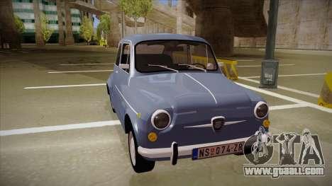 Zastava 750 Fico for GTA San Andreas right view