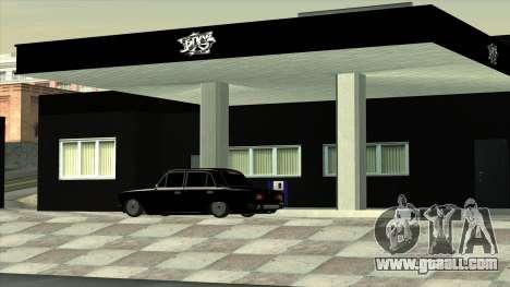 The garage in Doherty BPAN for GTA San Andreas