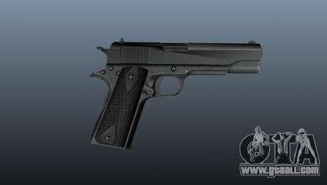 Pistol M1911 v3 for GTA 4 third screenshot