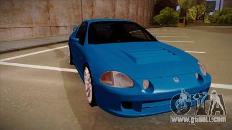 Honda CRX Del Sol for GTA San Andreas left view