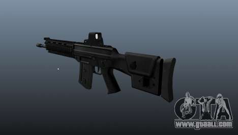 Rifle SIG SG 751 v1 for GTA 4 second screenshot