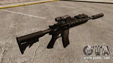 Automatic HK416 for GTA 4 second screenshot