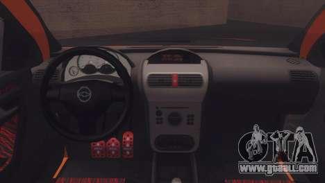 Chevrolet Montana Combo for GTA San Andreas inner view