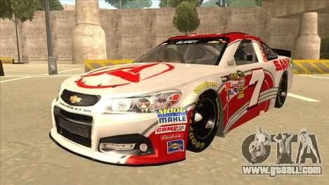 Chevrolet SS NASCAR No. 7 Sany for GTA San Andreas