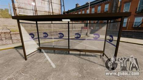 Real advertising at bus stops for GTA 4 sixth screenshot