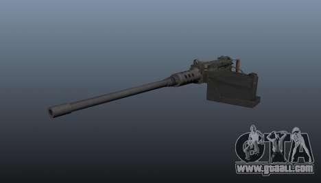 Maxim machine gun Browning M2HB for GTA 4