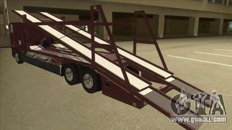 International 9700 Car Hauler for GTA San Andreas back view