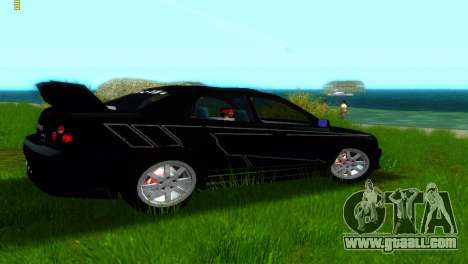 Subaru Impreza WRX v1.1 for GTA Vice City back view