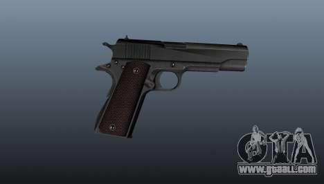 Pistol M1911 v5 for GTA 4 third screenshot
