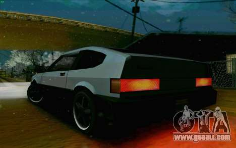 Blista Compact Type R for GTA San Andreas back view