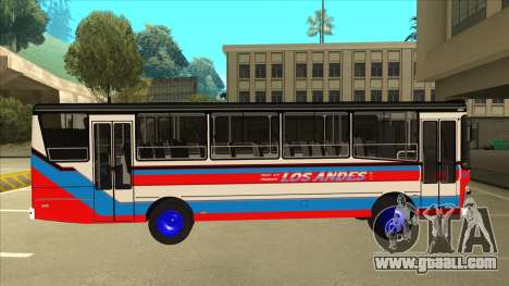 Mercedes-Benz OHL-1320 Linea 78 Los Andes for GTA San Andreas back left view