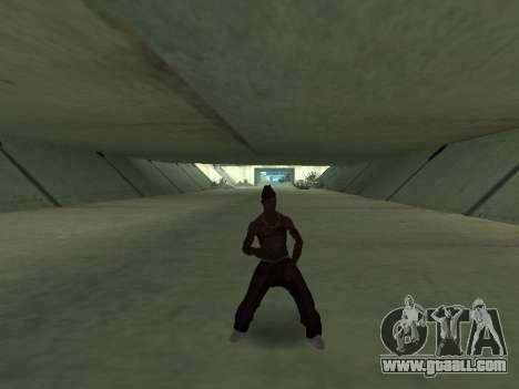 They Dance for GTA San Andreas second screenshot