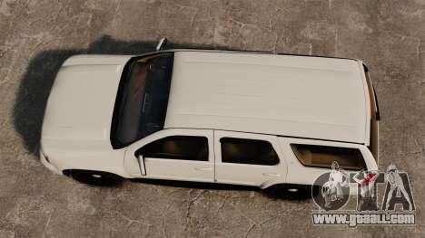 Chevrolet Tahoe Slicktop [ELS] v1 for GTA 4 right view